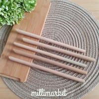 Bamboo Straw Sharp / sedotan bambu