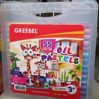 Crayon Greebel 55 Warna