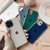 SOFT CASE GOLD PREMIUM IPHONE 8 PLUS X XS XS MAX XR 11 11 PRO PRO MAX