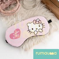 RUMAUMA Penutup Mata Tidur Gel Sleep Eye Cover Mask Travel Hello Kitty