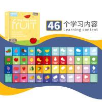 Baby or Kids Flashcard / Montessori English Game - Fruits