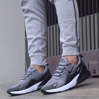 Sepatu Sneakers Nike Airmax 270 Grey Black Premium Quality