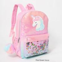 Tas Ransel NOT Flip Sequin anak Unicorn