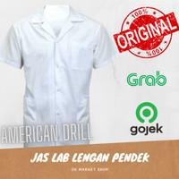 Jas Laboratorium Pendek / Baju Laboratorium Lengan Pendek XL