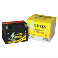 Aki Motor Yamaha New Vixion GTZ5S Zeus Super Power Aki Kering 12V 5AH