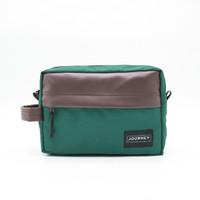Journey - Athena Green Gadget Organizer Pouch Dopp Kit Hand Bag