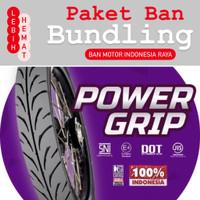 Paket Ban Motor MIZZLE Power Grip 225 17 dan 250 17 ( Tubetype )