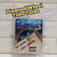 DIAMOND WHEEL TOHO TURBO 4 / MATA POTONG GRANIT / MATA POTONG KERAMIK