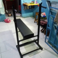 bench press bangku fitness gym