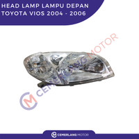 HEAD LAMP LAMPU DEPAN TOYOTA VIOS 2004 - 2006