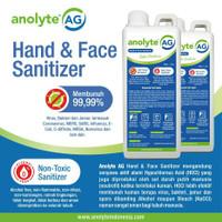 ANOLYTE AG (HOCl) 1 Liter. Hand Sanitizer Non Alkohol Food Grade