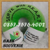 souvenir rumah sakit bantal leher bentuk u custom