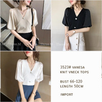 Vanesa Knit Top Import TM 3523