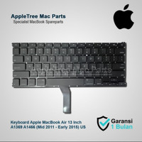 Keyboard Apple MacBook Air 13 Inch A1369 A1466 (Mid 2011 - Early 2015)