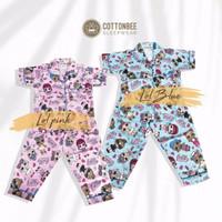 Piyama Anak Imported Cotton - LOL Edition