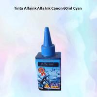 Tinta Alfaink Alfa Ink Canon 60ml Cyan
