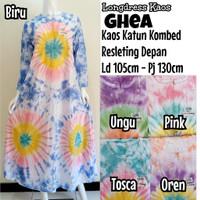 Baju Tidur Wanita Muslimah/Longdress Batik/Daster Lengan Panjang