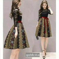Dress Lace Batik Magnolia Sayota