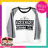 Lollipop Kids Store Kaos Anak Laki-Laki Lengan Panjang Oshkosh 1-10 Th