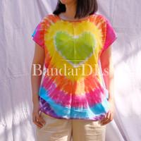 Baju Kaos Pelangi bahan Rayon Premium harga Grosir