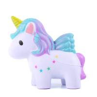 Mainan Squishy Model Slow-Rising Bahan PU Elastis Bentuk Kuda Warna