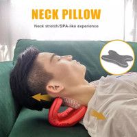 Nack Carvical Traction Pain Relieve Pillow Bantal Terapi Tulang Leher