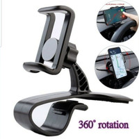 Dashboard Mobil Phone Holder 360° Jepitan Hp Gps Universal