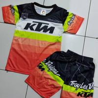 jersey baju cross sepeda gunung balap anak premium meal
