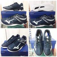 Sepatu Volly Mizuno Thunder Blade 2 Navy/Blue Dewasa