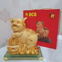 READYSTOCK Pajangan Emas Keberuntungan Babi (Lucky Pig)