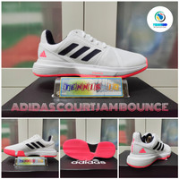 Sepatu Tenis ADIDAS COURTJAM BOUNCE 2020 - White/Pink