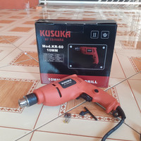 KUSUKA Mesin Bor/Electric drill 10mm KR-60 Terlaris dan termurah