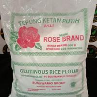 Tepung Ketan Putih Rose Brand 500 g