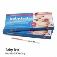 ovulation LH test onemed baby test 5 strip deteksi masa subur
