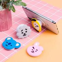 Pop socket karakter Kpop BTS BT21- griptok 3D phone holder