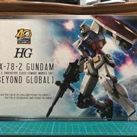 HG 1/144 RX-78-2 GUNDAM BEYOND GLOBAL - BANDAI