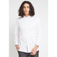 EDITION MENS ESL104 Kemeja Pria Pure White Slimfit Shirt