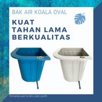 Bak air kamar mandi / bak air oval / bak air plastik