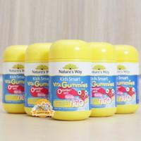 READY Natures Way Vita Gummies Omega 3 DHA Fish Oil Trio 60 Kapsul