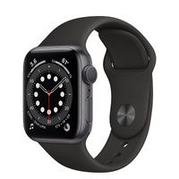 Apple Watch Series 6 44mm Space Gray Aluminum with Sport Band / Loop