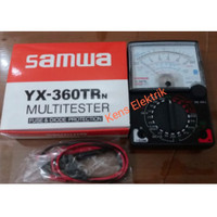 Multitester Multimeter Analog jarum SAMWA YX 360 TRn Avometer manual
