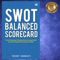 Buku SWOT Balance Scorecard - Cover Baru