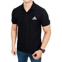 Kaos polo shirt pria Adidas / kaos berkerah / polo shirt pria