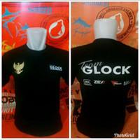 tshirt baju kaos TEAM GLOCK INDONESIA
