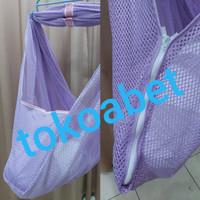 Kain Ayunan Bayi Zipper Ukuran XL/Jumbo Merk POLAR #tokoabet