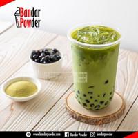 Bubuk Green Tea Mix Gula 1kg - Serbuk Minuman Premium