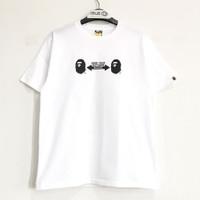Bape Social Distance Ape Head Tshirt White 100% Original - XL