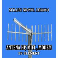 ANTENA YAGI PENGUAT SINYAL 3G 4G FOR HP MIFI MODEM INDUKSI 29 EL