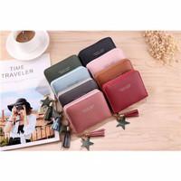 Dompet wanita kecil murah koin resleting import