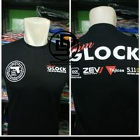 tshirt Baju kaos Team Glock SIZE 3X & 4XL